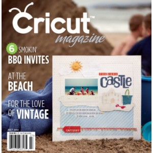 Cricut Magazine July 2012 Item RSCRIJULY2012